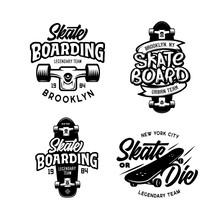 Skateboarding T-shirt Design S...