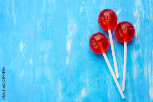 Asymmetric ball lollipops minimalism Wallpaper Mural