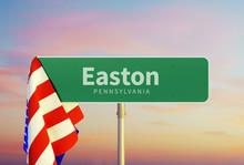 Easton – Pennsylvania. Road ...