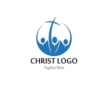 Christ Logo Or Icon Template S...