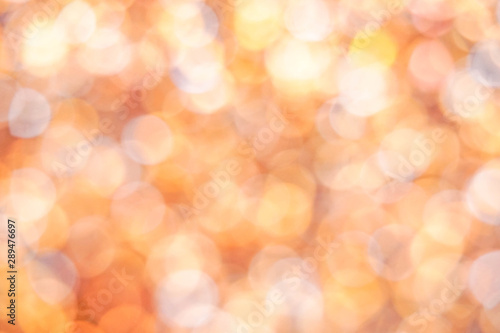 Abstract glitter bokeh background Canvas Print