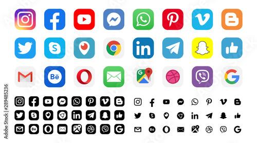 Facebook Twitter Instagram Youtube Snapchat Pinterest