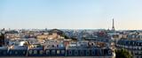 Fototapeta Fototapety z wieżą Eiffla - Panorama of Paris, view of the roofs and the Eiffel Tower
