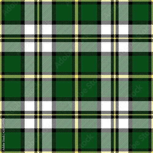 Canvastavla Cape Breton Island plaid pattern. Regional tartan of Canada.