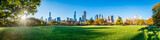 Fototapeta Nowy York - Central Park in New York City as panorama background during autumn season