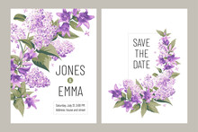 Wedding Invitation Card. Frame...