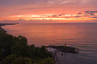 Dramatic Sunset Over Lake Erie, Ashtabula Ohio