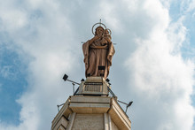 Virgin Mary Statue On The Top ...