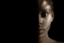 Art Photo Of Africal Woman Wit...