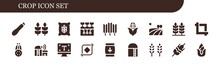 Crop Icon Set