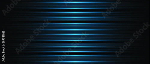 Foto  Dark Abstract background texture of horizontal lines