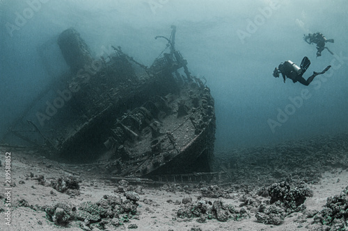 Canvas Prints Shipwreck Wreck of Ghiannis D