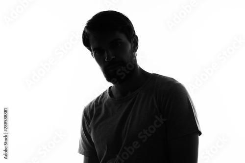 Fotografie, Tablou portrait of a man