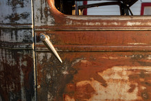 Rusty Antique Abandoned Pick Up Truck Details