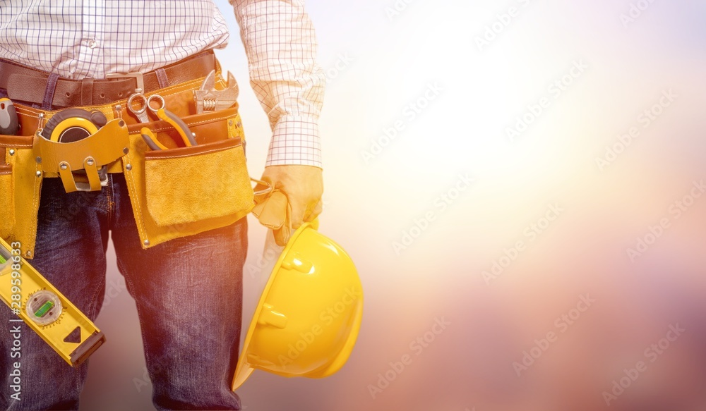 Fototapeta Construction.