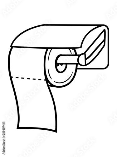 Klopapier Spender Toiletten Papier Klo Toilette Wc Bad Stuhl