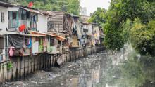 Bangkok, Thailand: Slums Along...