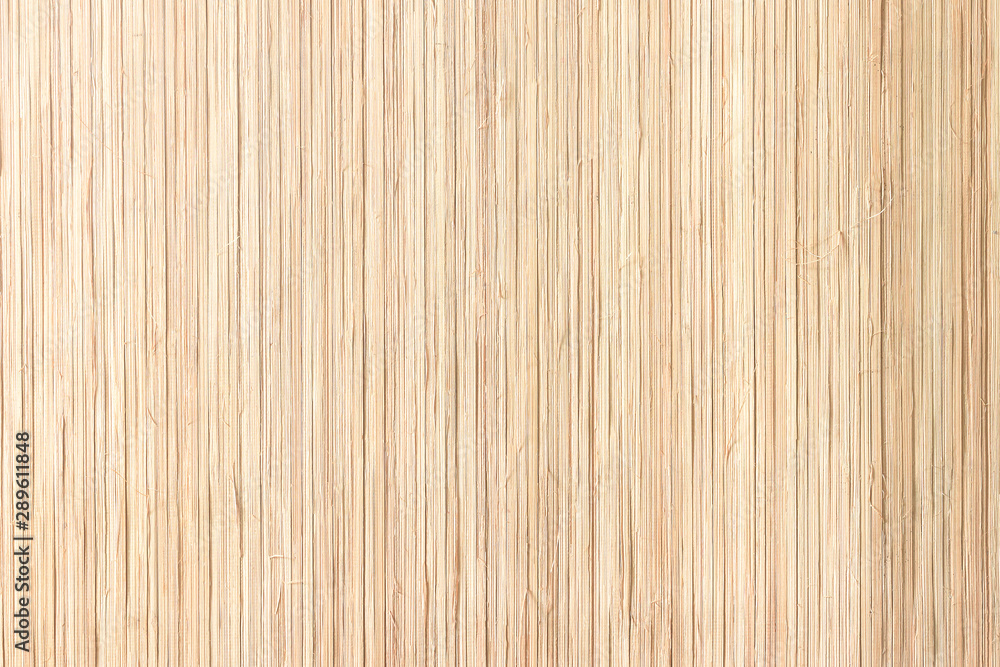 Fototapety, obrazy: Closeup bamboo straw texture background