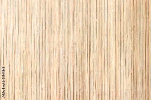 Closeup bamboo straw texture background