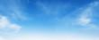 Leinwandbild Motiv white cloud with blue sky background