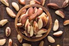 Brazilian Nuts Peeled In Woode...