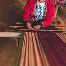 Peruvian Traditional Weaver