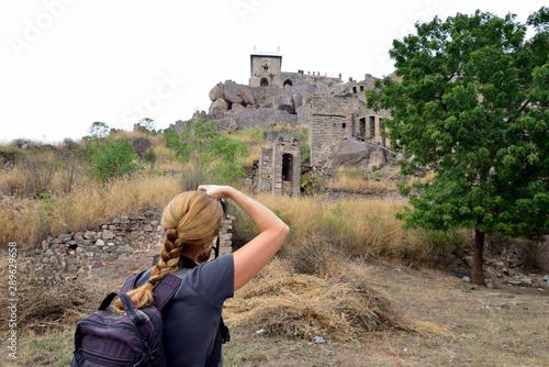 Photo India, Golconda Fort in Hyderabad