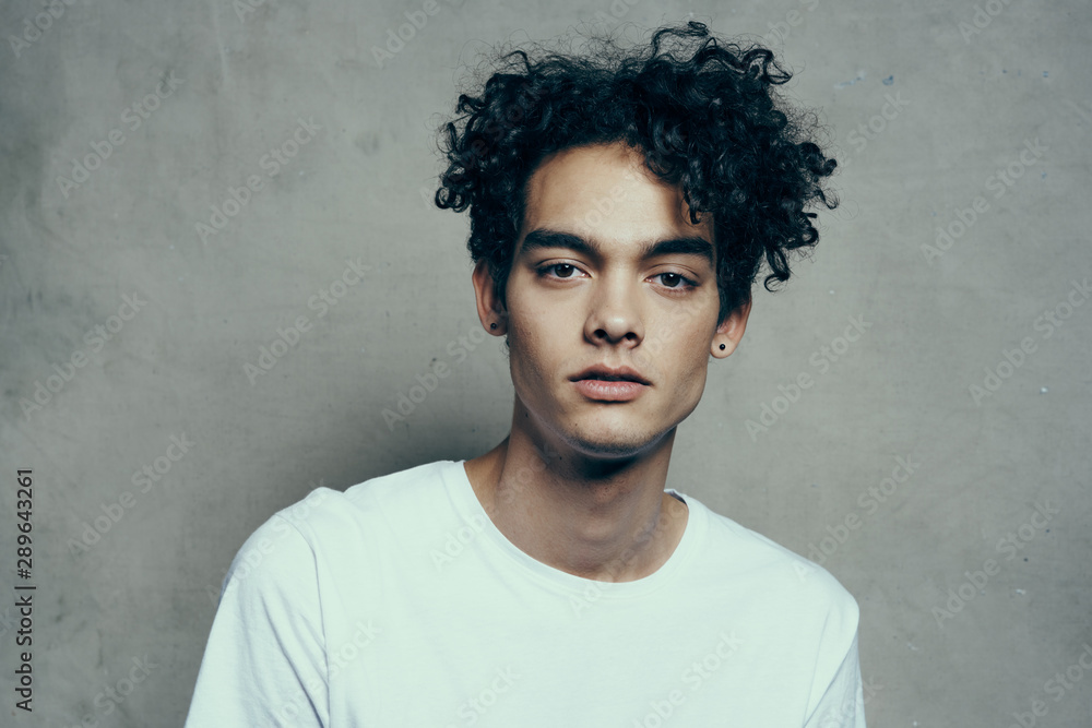 Fototapeta portrait of a young man