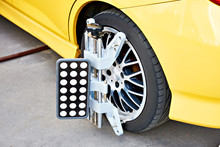 Wheel Clamp Of Automotive Diagnostic