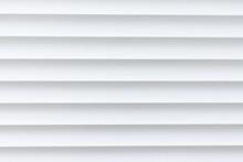 White Texture Aluminium Louver Background.