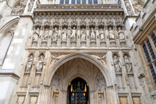 Westminster Abbey's Facade Wit...