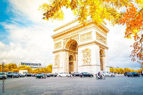 Valokuvatapetti Arc de triomphe, Paris, France