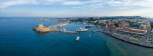 Aeria View Of Rhodes City, Dod...