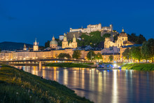 Beautiful View Of Salzburg Skyline