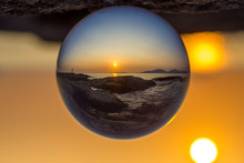 Crystal Ball Photography Of A ...