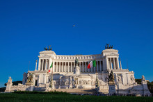 Vittorio Emanuele II Monument Also Called Altare Della Patria A Monument Built In Honor Of Victor Emmanuel II The First King Of A Unified Italy