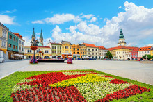 Main Square Of Kromeriz Downto...