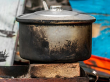 Old Pot On Fire