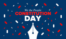 Constitution Day In United Sta...