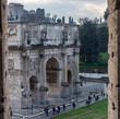 Arco del triunfo desde el Coliseo
