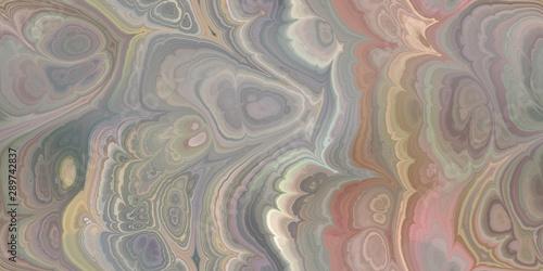 earthy marbleized seamless tile Fototapeta