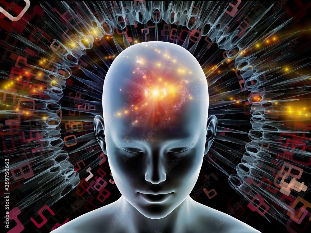 Fototapeta Radiating Mind