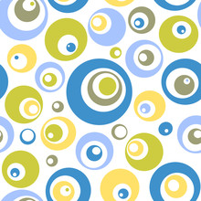 Mod Circle Seamless Pattern Fo...