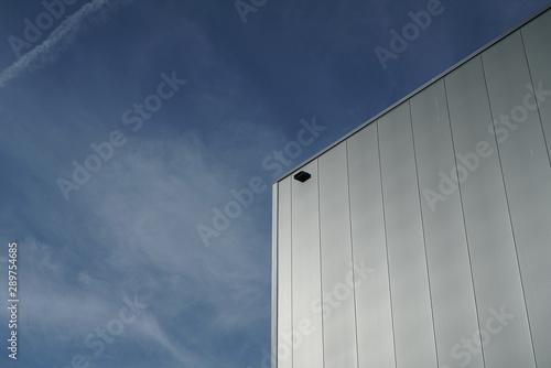 Türaufkleber Darknightsky Industrial architecture