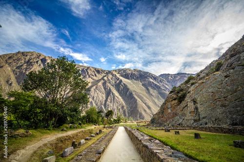 Fotografie, Obraz  Ollantaytambo - Peru