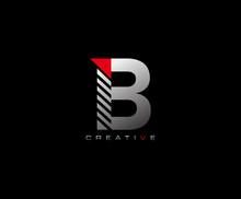 Creative Modern Letter B Logo,...
