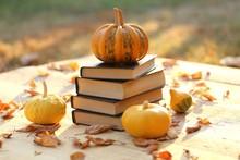 Autumn Books. School Time.Hall...