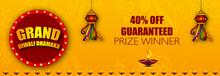 Diwali Festival Sale Design Te...