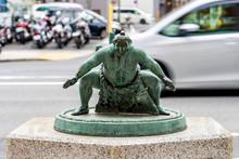 The Bronze Figure Statue Of Ja...