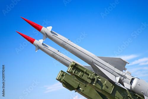 SAM missiles Canvas Print